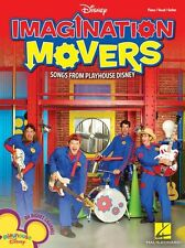 Imagination Movers Disney Songs Learn to Play PIANO Guitar PVG Music Book