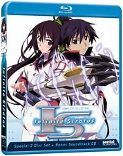 Infinite Stratos . The Complete Series Collection . Anime . 2 Blu-ray + CD . NEU