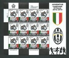 """2013 RSM """"JUVENTUS CAMPIONE D'ITALIA"""" FOGLIETTO NUOVO LUSSO**"""
