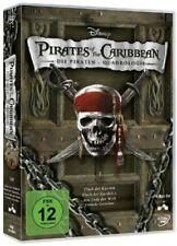 FLUCH DER KARIBIK Pirates of the Caribbean 1 2 3 4 QUADROLOGY 4 DVD Box EDITION