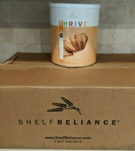 THRIVE Shelf Reliance Hard White Winter Wheat EMERGENCY SURVIVAL FOOD 80 oz