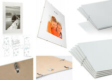 Clip Frames Picture Photo Certificates A1 A2 A3 A4 Large Poster Frames Sets