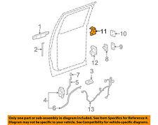 GM OEM Lock -Rear Door-Upper Hinge Left 25854397