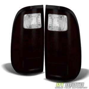 Dark Tinted 2008-2016 Ford F250 F350 F450 F550 Super Duty Tail Lights Left+Right