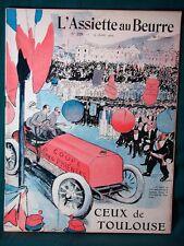 L'Assiette au Beurre #229 Ceux de Toulouse France 1905 French Satire Art