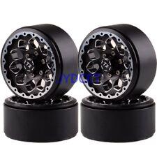 """Axial Aluminum 1.9"""" Beadlocks Wheel Rims 1065 RC Cars Rock Crawler For SCX10 D90"""
