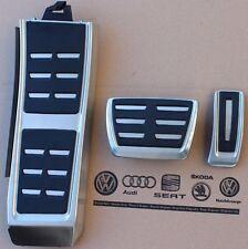 Audi A6 4G C7 original RS6 Pedalset S-Line Pedale S6 Pedalkappen Fußstütze RS7