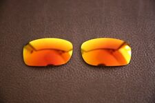PolarLenz Polarized Fire Red Iridium Replacement Lens for-Oakley Fives Squared