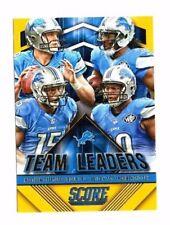 Detroit Lions 2015 Panini Score, Team líderes, (Dorado) Matthew Stafford