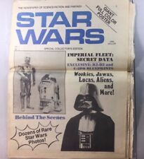 Vintage The Newspaper Of Science Fiction And Fantasy Star Wars Vol 1 No 1 Sw5