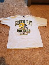 Green Bay Packers 1995 NFC Central Division Champs Tee Shirt. Size XL.
