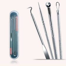 4pcs Stainless Steel Acne Removal Needles Pimple Blackhead Remover Tools