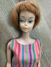 Vintage American Girl Barbie - Red Head Titan PEACH Lips OG Swimsuit