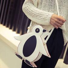Women Cute Purse Cartoon penguin Handbag Cross Body Satchel Shoulder Mini Bag