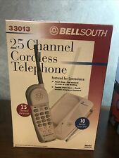1990 Bellsouth 25 Channel Cordless Telephone 33013 Brand New In Box