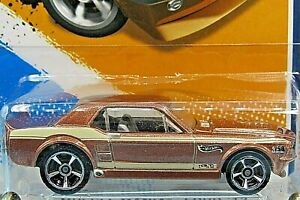 HOT WHEELS VHTF 2012 MUSCLE MANIA SERIES 67 FORD MUSTANG COUPE WALMART COLOR