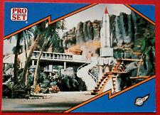 Thunderbirds PRO SET - Card #014, Thunderbird 1 Lift-Off - Pro Set Inc 1992