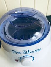 Pro- Wax100, Rapid Melting Wax Warmer Portable Machine - 4x100g Flavor with...