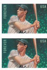 US Stamp # 4697 Joe Dimaggio IMP pair