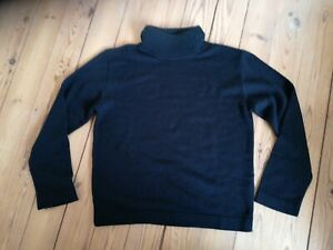 DIRK BIKKEMBERGS VINTAGE TG XXL POLO NECKED JUMPER WITH HOOD