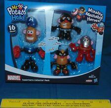 Playskool Super Hero Collector Pack Mr. Potato Head - captain america iron man