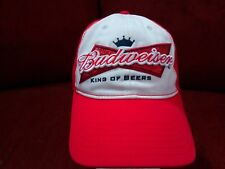 Budweiser King of Beers Red/white Hat