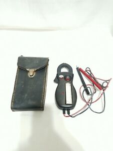 Vintage AMPROBE Clamp Meter AC Volt Meter RS-3 Analog Clamp-on Ammeter Ohmmeter