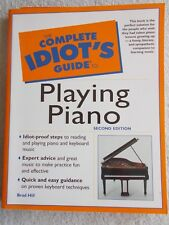 Brad Hill Complete Idiot's Guide Playing Piano Unused