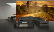Country Road in Australia Wall Mural Wallpaper GIANT WALL DECOR PAPER POSTER