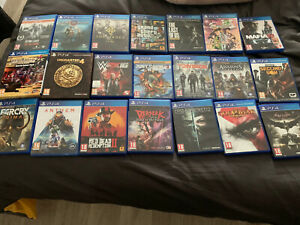 Vends Lot De 21 Jeux Ps4 Dont Gta V Red Dead 2 ( No Ps5 PlayStation 5 )