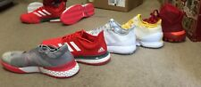 Adidas Lot 5 Pair Tennis Bball Shoes Size 13 Adizero Bounce Ubersonic Excellent