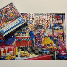 MasterPieces Good Times Diner Jigsaw Puzzle 500 Pieces  21x15 Inches 100%