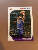 2019-20 Hoops Basketball Base Card - LeBron James - Los Angeles Lakers