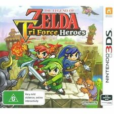 The Legend of Zelda Tri Force Heroes Nintendo 3ds