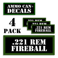 "22 Mag Reloading Press Decals Ammo Labels 1.95/"" x .87/"" Sticker 2 Pack BLK//GRN"