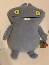 "Ugly Dolls MOVIE 2019 UglyDolls ""BABO"" 14"" PLUSH NWT  Light Blue/Gray"