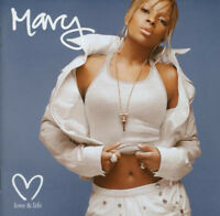 Mary J. Blige ‎– Love & Life CD Geffen Records ‎2003 NEW