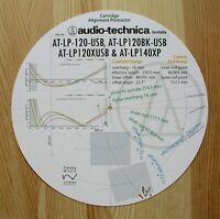 Audio-Technica AT-LP120USB/AT-LP120XUSB/AT-LP140XP Tonearm Alignment Protractor