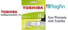 Toshiba 8GB USB 2.0 Flash Stick Pen Memory Drive