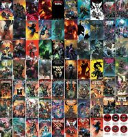 DARK NIGHTS DEATH METAL 1-7 PLUS All Variant HARD METAL MASTER set 68 books