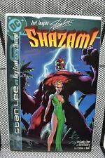 Just Imagine Stan Lee's Shazam DC Graphic Novel 2002 Gary Frank Cap Marvel 9.0