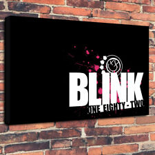 "Blink One Eighty Two Printed Box Canvas Picture A1.30""x20""x 30mm Deep - 182"