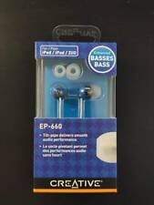 Creative EP-660 in-ear Stereo Earphones - Cobalt Blue