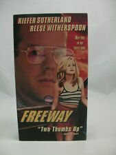 Freeway VHS Tape Keifer Sutherland Reese Witherspoon Untested