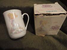 "Precious Moments Coffee Chocolate Mug ""Jane"" Little Girl 1991 Vintage"