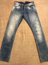 PRPS DEMON Light Indigo Blue Faded Mens Slim Jeans 31 / Best fits 30 Orig.$300+
