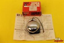 NOS Vintage Nikko 6V Motorcycle Horn Chrome Black 100db 2.5A Made in Japan
