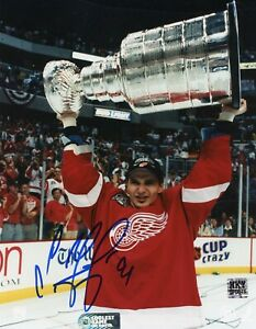 Sergei Fedorov Detroit Red Wings Autographed Signed 8x10 Photo