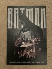 SDCC 2019 BATMAN 12x18 POSTER DUAL SIDED COMIC CON EXCLUSIVE DARK KNIGHT DC