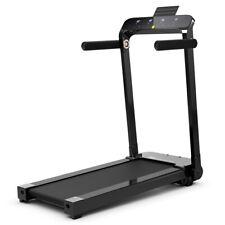 Ultra-thin Lightweight Folding Treadmill Installation-free Walking Machine Black